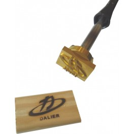 Hot brand for wood with logo 45 mm x 30 mm
