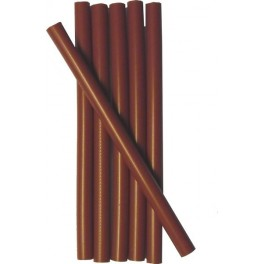 6 CHOCOLATE wax sticks