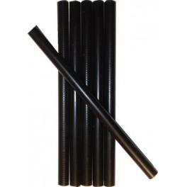 6 BLACK wax sticks
