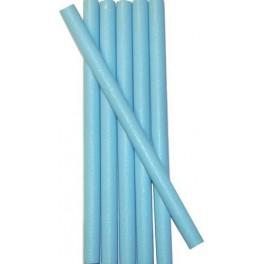 6 SKY BLUE wax sticks