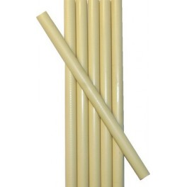 6 IVORY wax sticks