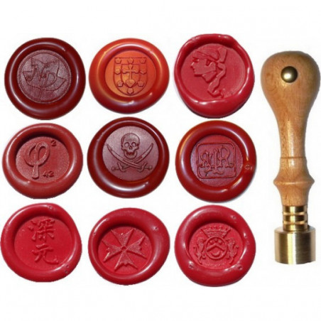 sceau logo diametre 20mm