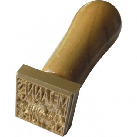 tampon personnalisé savon