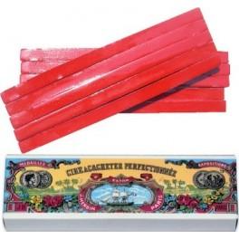 Boîte 10 batons cire J.Herbin Rouge