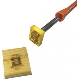 Hot brand for wood with logo 45 mm x 35 mm