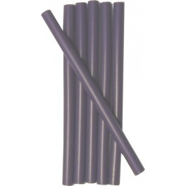 6 CHOCOLATE wax sticks