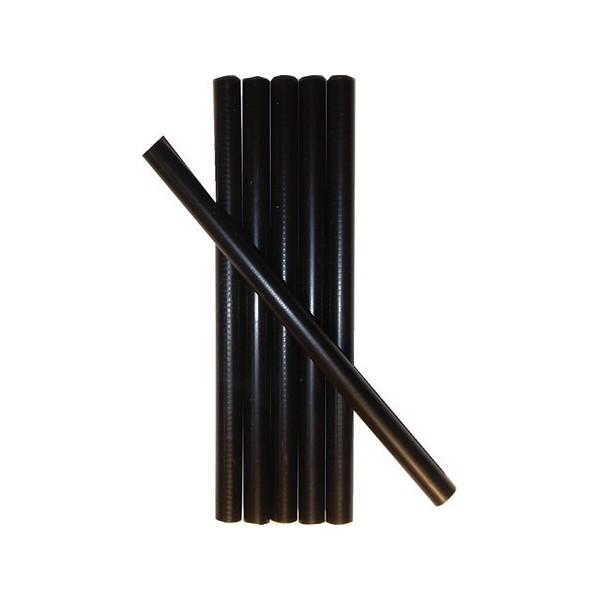 cire cacheter couleur noire en petits batons paquet de 6. Black Bedroom Furniture Sets. Home Design Ideas