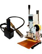 Presse à chaud pour le cuir avec température régulée par contrôleur numérique