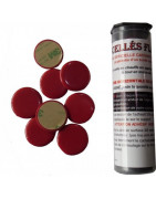 Scellés Flash, pastilles de cire rouge adhésives